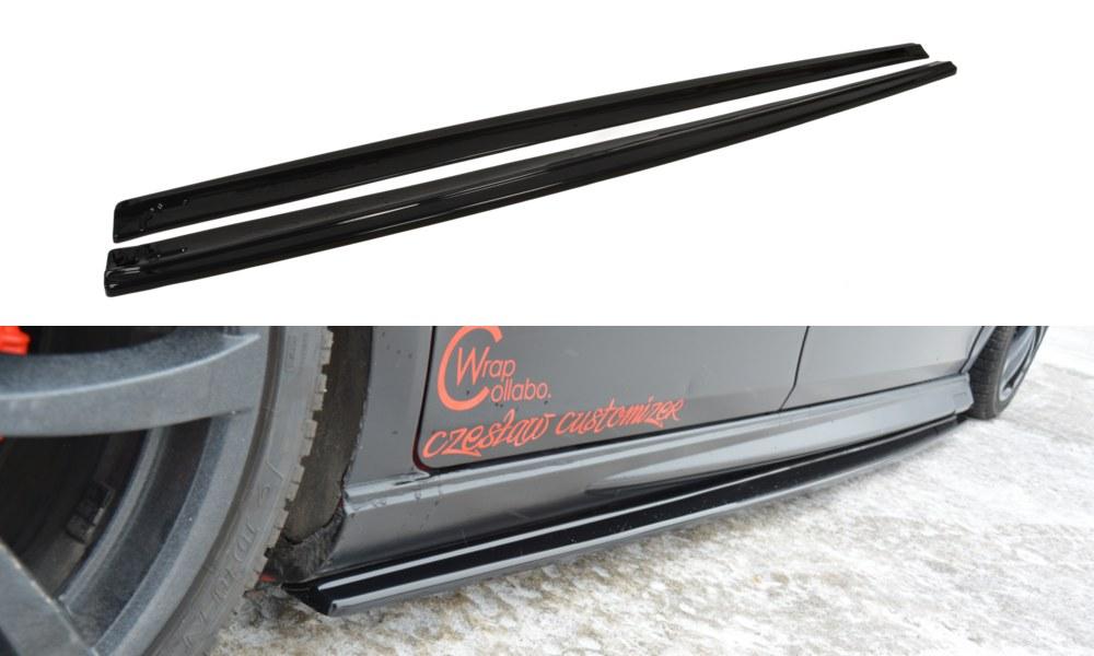 Dokładki Progów Seat Leon II MS Design - GRUBYGARAGE - Sklep Tuningowy
